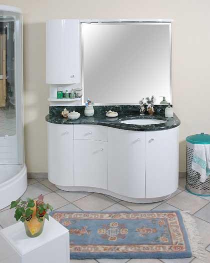 Mobili da bagno laccati arredo bagno - Mobili da bagno componibili ...