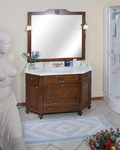 Mobili da bagno in legno arredo bagno - Mobili bagno classici legno ...