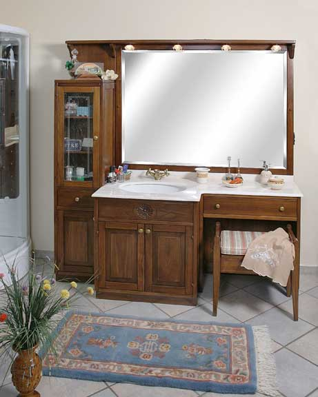 Mobili da bagno in legno arredo bagno - Mobili bagno legno ...